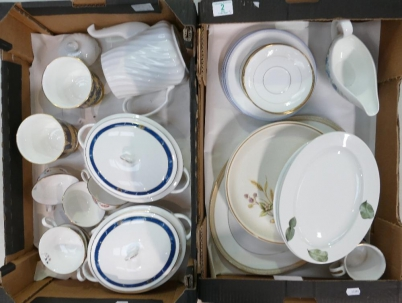 COBRIDGE SALEROOM, ST6 3HR - February 2020 Auction of mainly Unreserved Items, Catalogue Returns, British Pottery, & Household Items