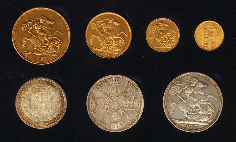 Buy Collectable Coins and Sovereigns at Auction - Potteries Auctions