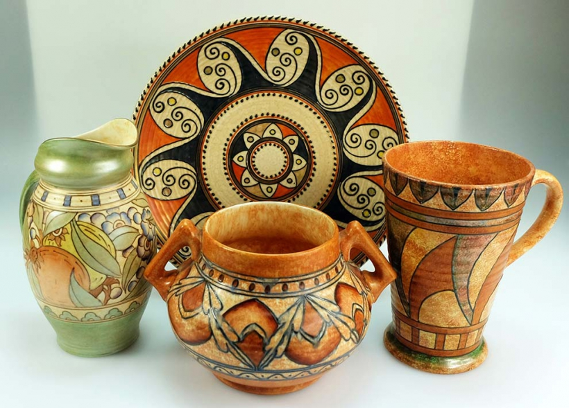 Buy Charlotte Rhead Ceramics at Auction - Potteries Auctions