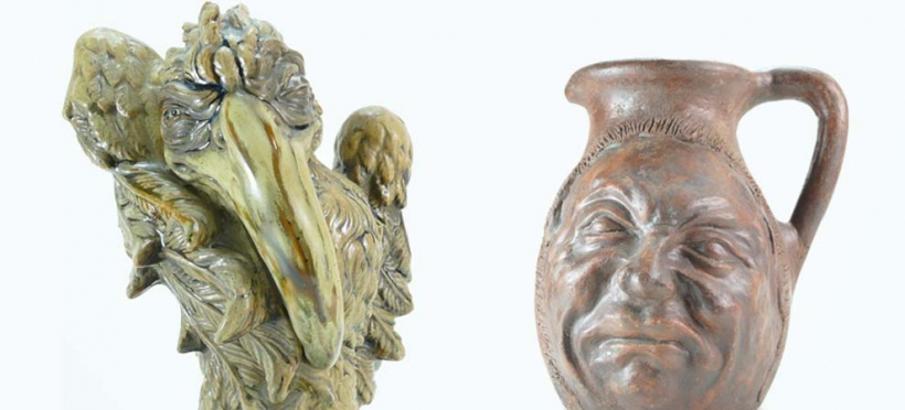 Buy Martin Brothers Pottery at Auction - Potteries Auctions