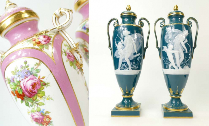Buy Minton Pottery at Auction - Potteries Auctions
