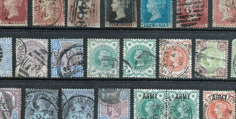 Buy Stamps and Stamp Collections at Auction - Potteries Auctions