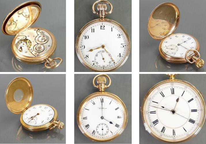 We have a wide range of gold pocket watches going under the hammer on the Sunday of our September sale